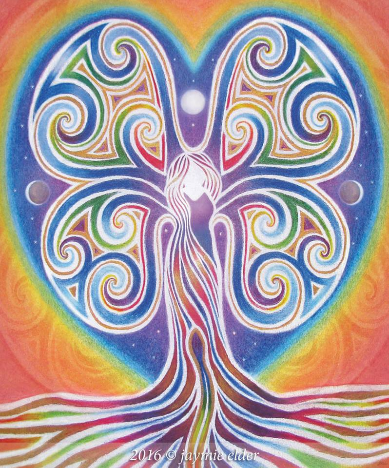 Rainbowtree Woman